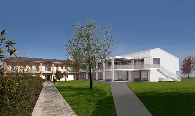 Ampliamento hospice casa dei gelsi studio luciano bertoncini - Ampliamento casa ...
