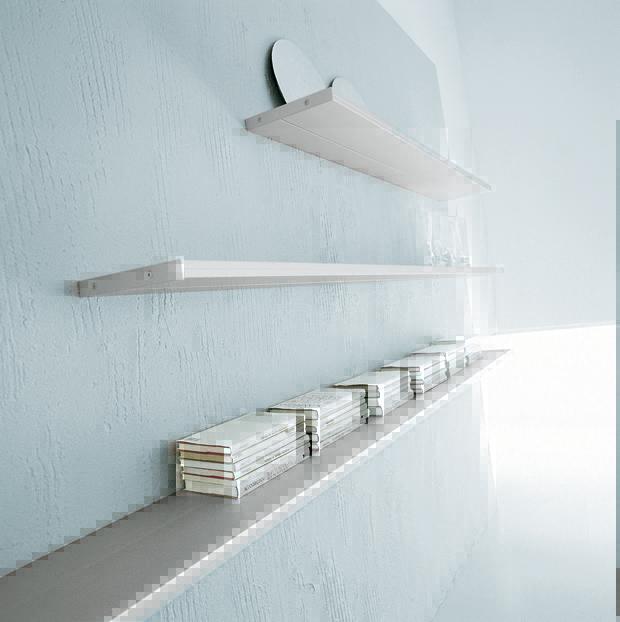California mensole a muro design di Luciano Bertoncini