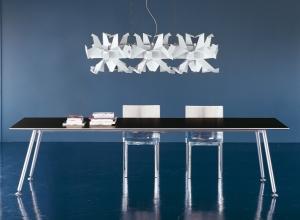 Skipper tavolo alluminio design Luciano Bertoncini