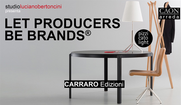 Event at Fuorisalone 2013: Let producers be brands. 12 Via Tortona Milan